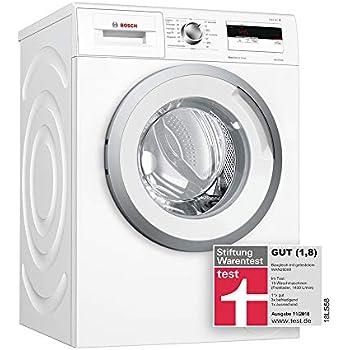 Bosch WAN28040 Waschmaschine Frontlader A 1400 UpM Schaumerkennung Unwuchtkontrolle Weiss