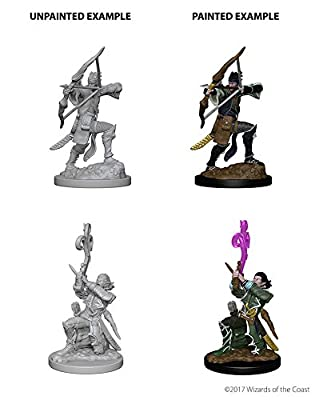 Nolzur's Marvelous Unpainted Minis: Elf Male Bard