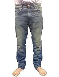 Super Dry Men's Denim Jeans(SD002_36_Blue)