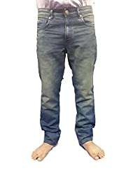 Super Dry Mens Denim Jeans(SD002_34_Blue)