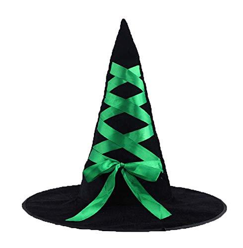 Accessoire de costume de chapeau de sorcière d'Halloween pour la fête de Noël de Halloween, L3