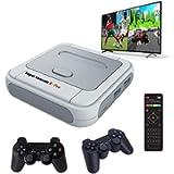 Whatsko Arcade Game Console Mini Super Console X Pro 128G con 41000 Giochi + Joystick Wireless 2 pezzi, 1280*720 Full HD…