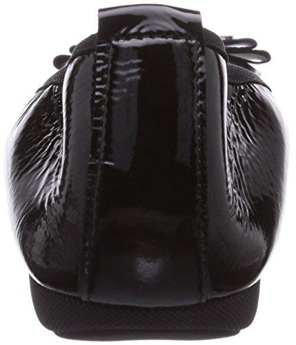 Diavolezza  IRINA, Ballerines femme Noir - Noir