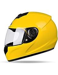 Casco de la motocicleta de la motocicleta de la cubierta completa del casco del casco del coche eléctrico Mujer cuatro estaciones niebla del invierno del casco completo ( Color : B )