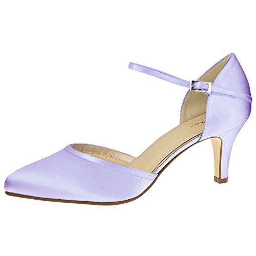 Elsa Coloured Shoes, Scarpe col tacco donna Avorio Avorio Avorio (Avorio)