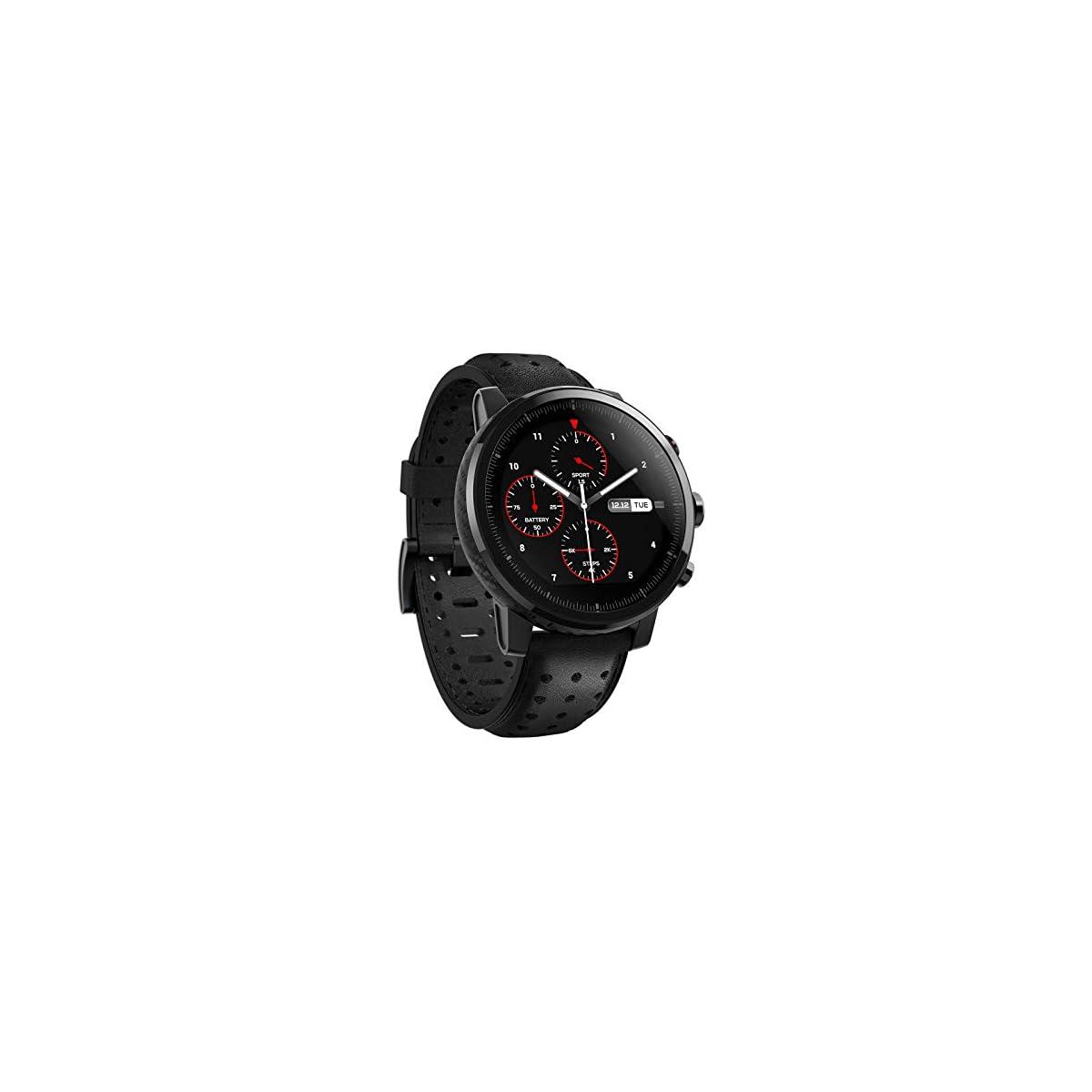 41CdRk%2Bh6bL. SS1200  - Xiaomi Amazfit Stratos 2S- Smartwatch Multisport, Bisel de cerámica pulida, Cristal de zafiro 2.5D, Resistente al agua hasta 50 metros, VO2 max, hasta 5 días de batería, Bluetooth, diseño premium