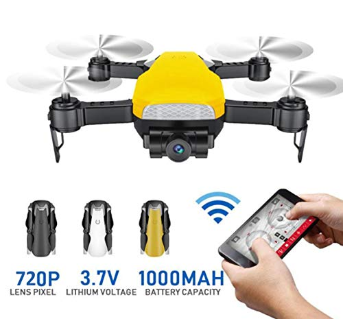 Magicwand R/C 6 Channel LH-X41wf 720p HD Camera, Foldable,Follow Me Drone,with Headless Mode ,Wi-Fi Connectivity ,FPV (Color May Vary)