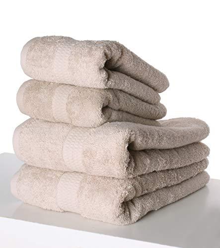 PimpamTex - Juego de Toallas Premium 700 Gramos de Secado Rápido para Baño, 100% Algodón, Pack Toallas de Baño + Toallas de Mano -