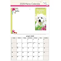The Home Fusion Company 2020 Memo Calendar With Shopping Pad Pen Write On Wipe Off Notes Cute Designs