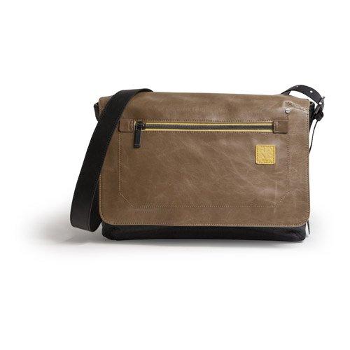 Golla G1578 ROAD CityBag NEIL Schultertasche für Notebook 34,2 cm (13 Zoll) schwarz/gelb