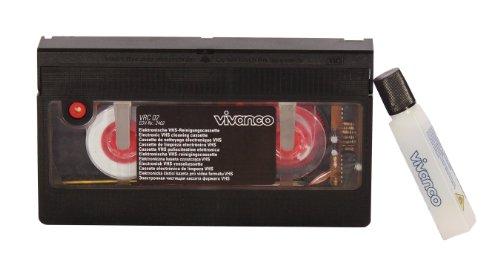 Vivanco - Elektronische VHS-Reinigungskassette Videorekorder Reinigung