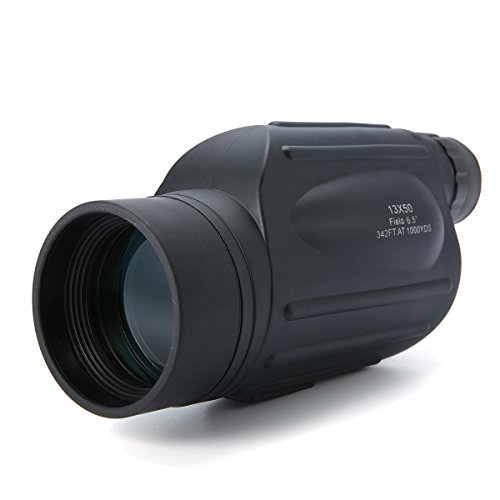 Inovey 13X50 Handy Monocular Scope Tissé Anti-Brouillard Imperméable À L'Eau Pour Les Sports D'Extérieur Birdwatching
