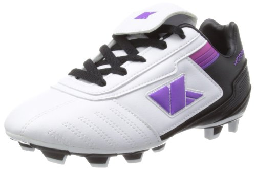 Kooga Lightning Lcst, Bottes Garçon Noir - Black/White/Purple
