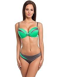 cc9f8c4726d8 Amazon.es: café verde - Ropa de baño / Mujer: Ropa