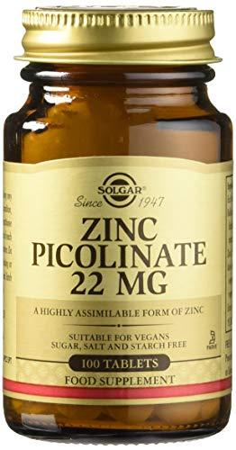 Solgar Zinc Picolinate 100 Comprimés