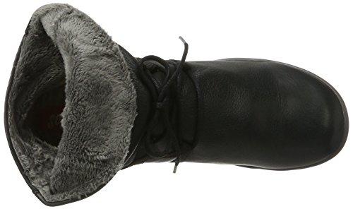 Softinos - Nup410sof Smooth, Stivali Donna nero (nero)