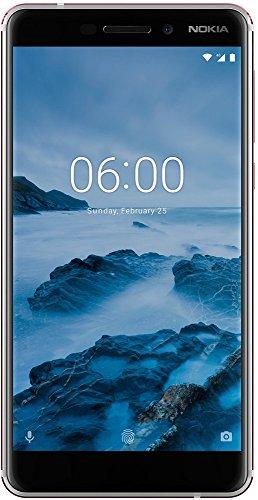 """Nokia 6.1 Dual SIM 4G 32GB Copper, White - Smartphones (14 cm (5.5""""), 32 GB, 16 MP, Android, O, Copper, White)"""
