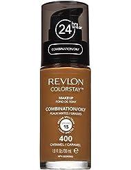 Revlon - ColorStay - Fond de Teint - Flacon 30 ml - Oily Skin - N400 - Caramel