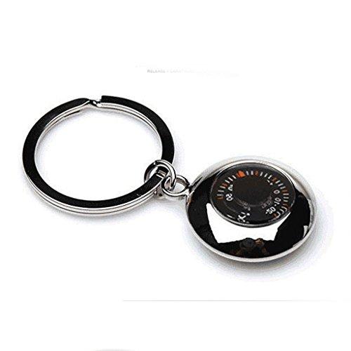Die Erntezeit Thermometer tragbaren Schlüsselanhänger Schlüsselanhänger Anhänger Haken aus Metall Fein