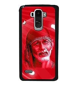 PrintVisa Lord Shri Sai Baba High Glossy Designer Back Case Cover for LG G4 STYLUS