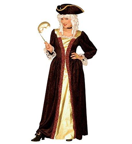 Kostüm-Set Venezianische Edelfrau, Größe XL 46/48 (Edelfrau Kostüm)