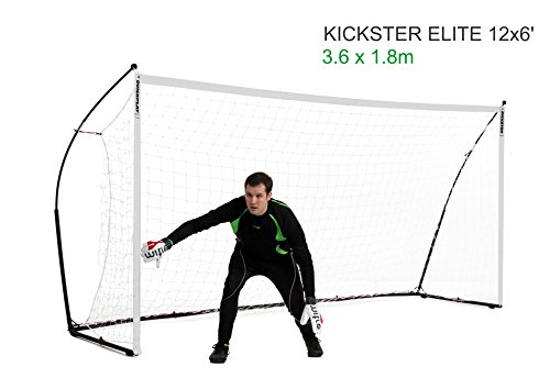 QUICKPLAY Kickster Elite - Super Portatile Porta da Calcio Professionale
