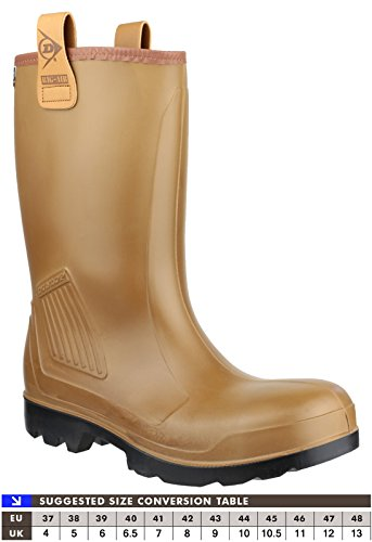 Dunlop Purofort Rig Air Full Safety Wellington de sécurité brown