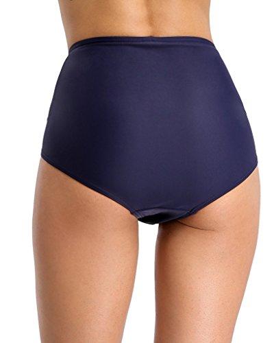 CharmLeaks - Pezzo sotto bikini -  donna Blau Raffung