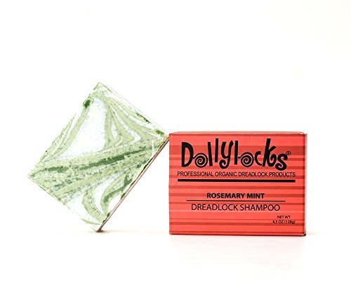 Dollylocks 4.5oz Rosemary Peppermint Dreadlock Shampoo Bar by Dollylocks...