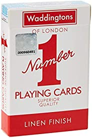 """Winning Moves Waddingtons """"Number 1"""" Playing Cards- Assor"""