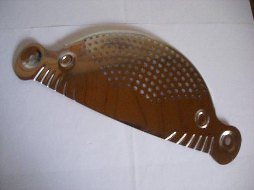 CHG Abgießhilfe aus Edelstahl für Töpfe bis 26cm Durchmesser