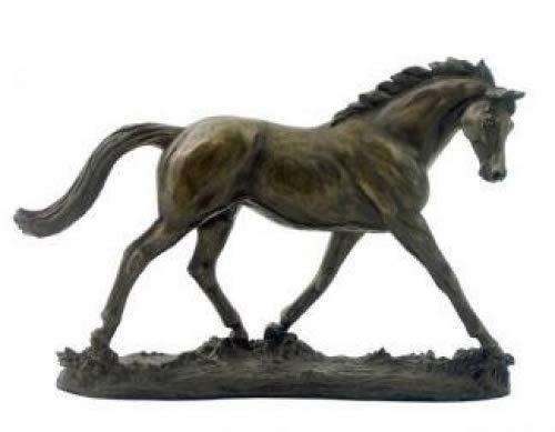 Elegance Pferde-Skulptur von Harriet Glen, kalt gegossen, Bronze