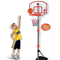 vapewaves Kids Junior Basketball Hoop with Electronic Scoring - Lights & Sounds is great for indoor and outdoor basketball