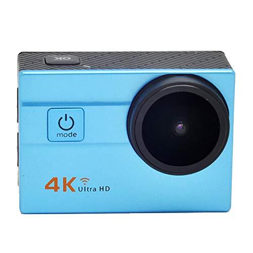 """TBY Action Camera, 4K Sport Kamera WiFi 2\""""Touchscreen 16MP Ultra HD Camcorder Wasserdichte CAM 173 ° Weitwinkel 50M Unterwasser Tauchen Für Fahrrad Klettern Schwimmen Etc,Blue"""