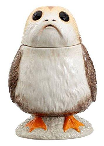 Funko Star Wars: EPVIII: Sprechende Keksdose: Vogel der Bäreninsel, Kunststoff, Weiß, 14 x 14 x 22 cm