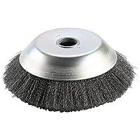 Cepillo de malezas Rotary Joint Nudo de torsión Disco de cepillo de rueda de alambre de acero 200 * 25Mm Paisajismo y corte de riego - Plata