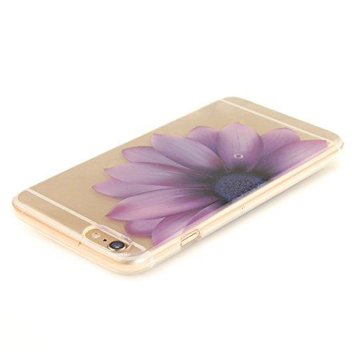 Felfy iphone 6S Plus Silikone Case,iphone 6 Plus Hülle,iphone 6s Plus Schutzhülle Ultra Dünnen Weiche Gel TPU Silikone Transparent Schutzhülle Bumper Case Handy Tasche Hülle für Apple iPhone 6 Plus/6S Medicago Hälfte