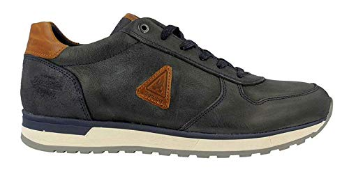 Gaastra Kai Tumbled Leather Men Navy 43