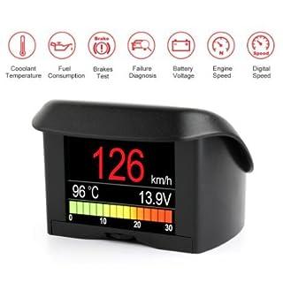 Ancel A202Bordcomputer und Scanner OBD2mit Anzeige und Überwachung des Fahrzeug