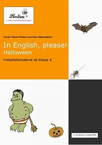 In English, please! Halloween: Freiarbeitsmaterial für den Englischunterricht in Klasse 4-6, CD ROM (In English, please! / Freiarbeitsmaterial für den Englischunterricht in Klasse 3 - 6, CD ROM)