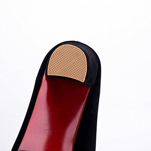 MissSaSa Donna Scarpe col Tacco Multicolore Comfort Nero