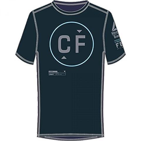 Reebok Men's Crossfit Burnout T-Shirt - Lead, Large