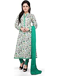 Vastra Vinod Women's Cotton Salwar Suit Set - B01KVE4I6G