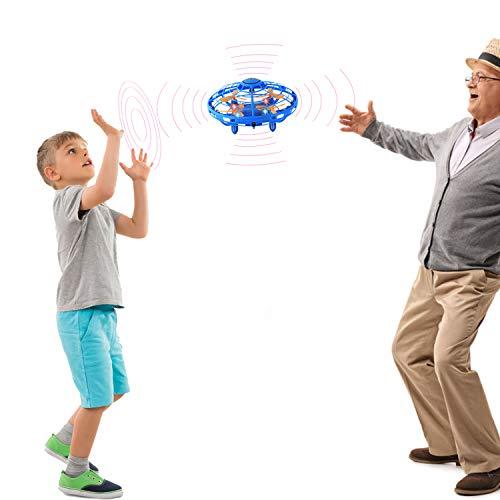 Magic Flying Toy Ball RC Quadricotteri Mini Drones per Adulti e Bambini Principiante 8 Anni, Elicottero Drone Controllato a Mano Regali per Ragazzi o Ragazze
