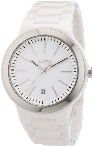 Joop JP100891F01 - Orologio da polso uomo, ceramica, colore: bianco