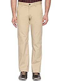 Indian Terrain Mens 4 Pocket Solid Chinos