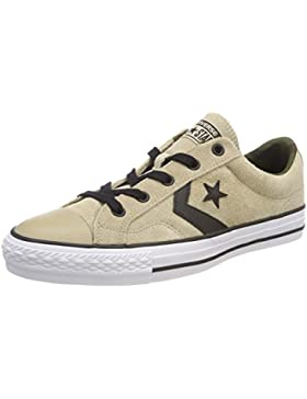 Converse Star Player Ox Vintage Khaki/Black/White, Zapatillas Unisex Adulto