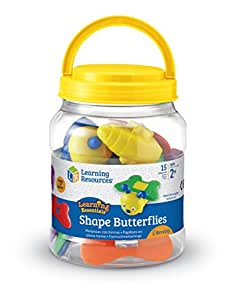 Learning Resources Papillons Avec Formes Snap-N-Learn De -