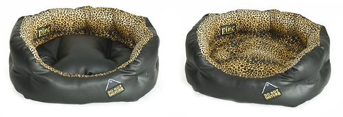 large-32-luxury-dog-bed-do-not-disturb-black-leatherette-and-leopard-print-pet-christmas-present