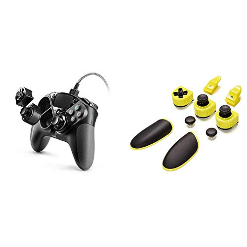 Eswap Pro Controller - PlayStation 4 + Yellow Color Pack [Esclusiva Amazon.it]